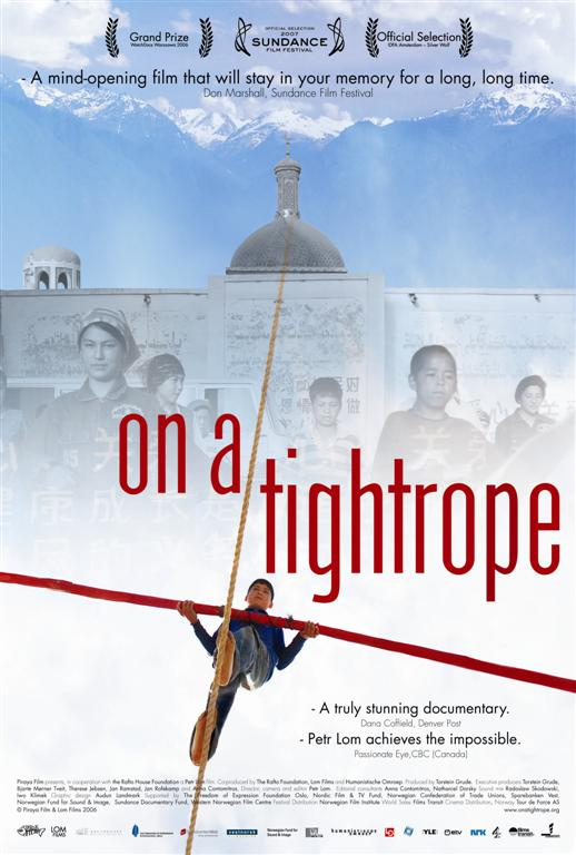 On_a_tightrope_-_International_poster