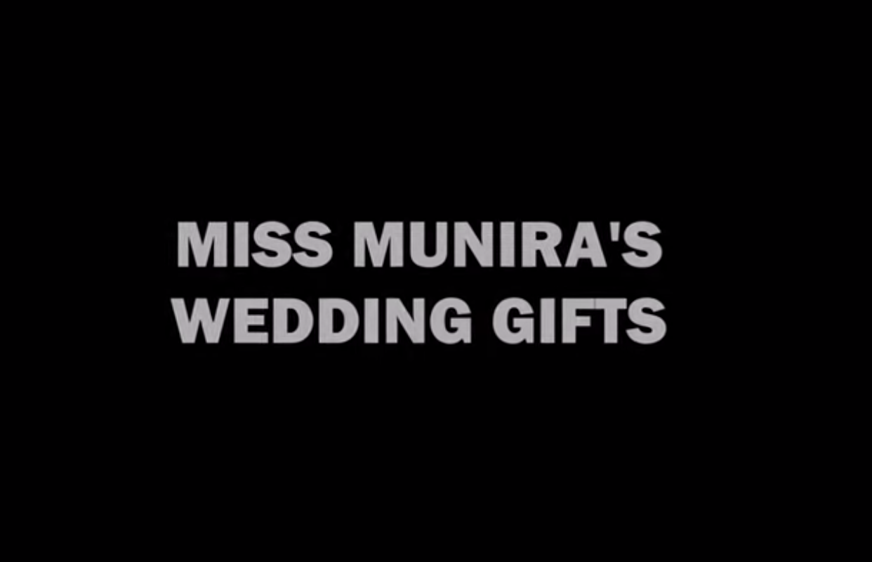 Ms Muniras Wedding Gifts Trolling Uyghur Elite Society O Art Of Life In Chinese Central Asia